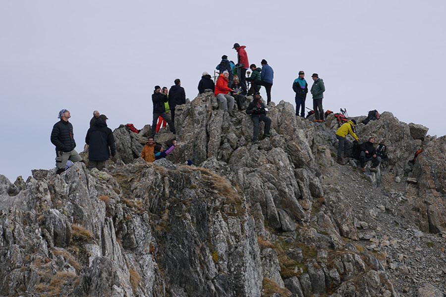 Mesure du Mont Valier en Ariège